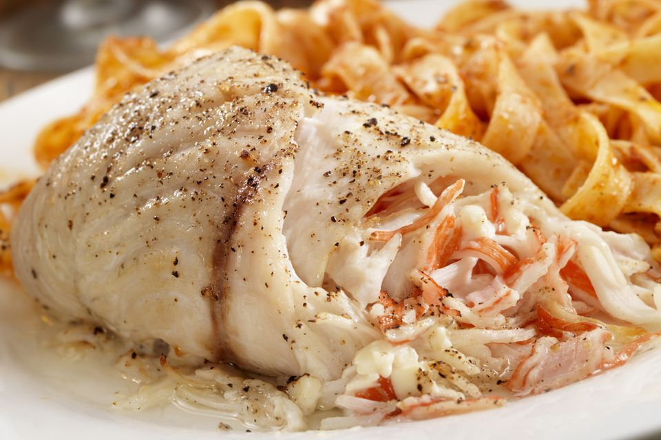 Stuffed Flounder With Crab or Lobster