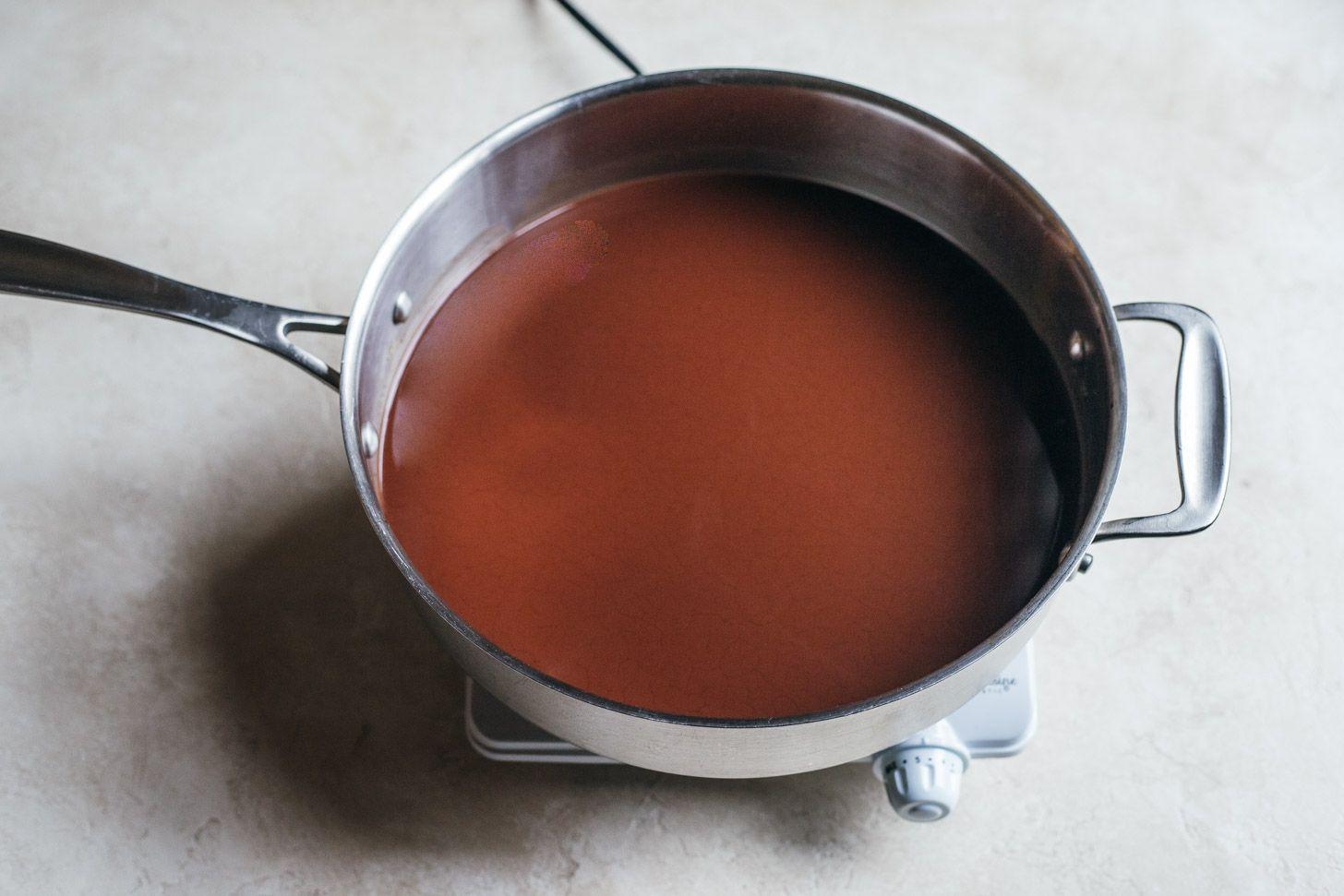 Stir in cocoa powder