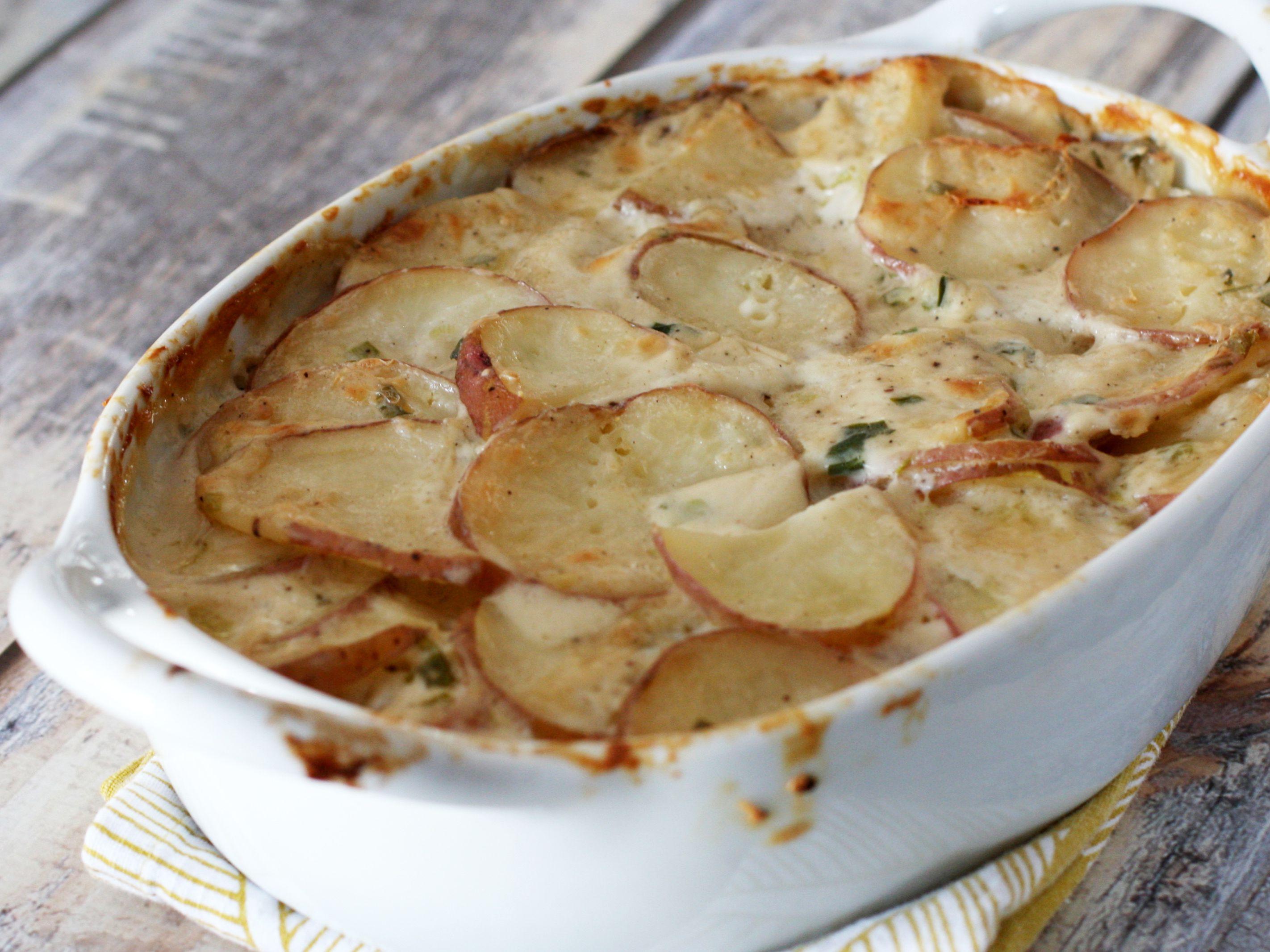 Savory Scalloped Potatoes Recipe