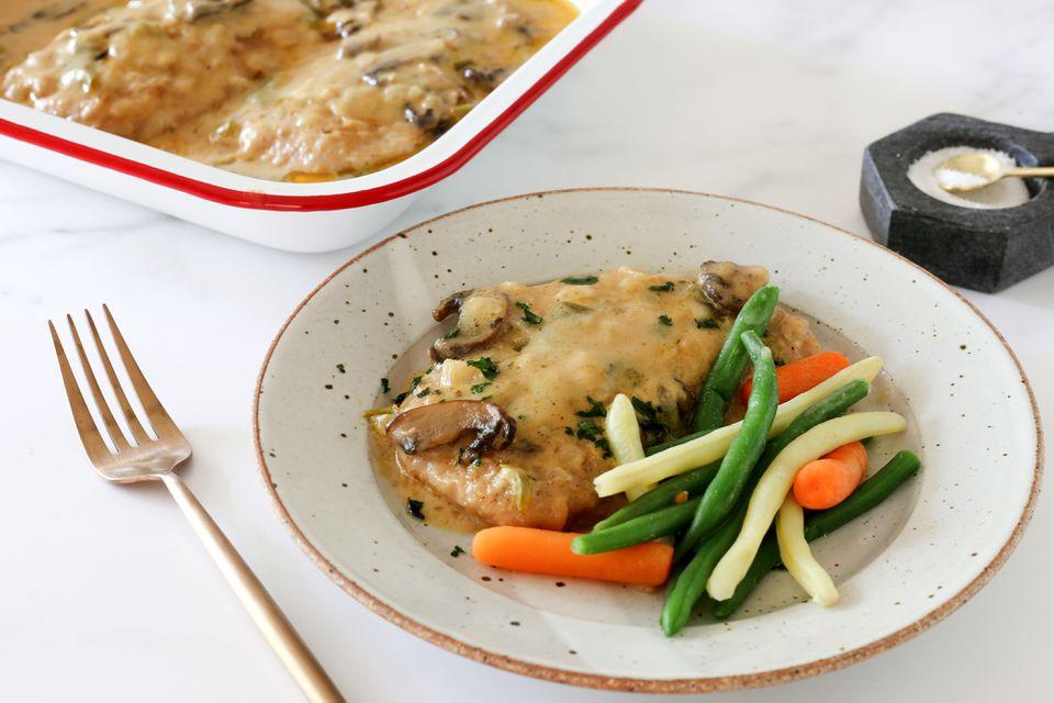 boneless pork chop bake