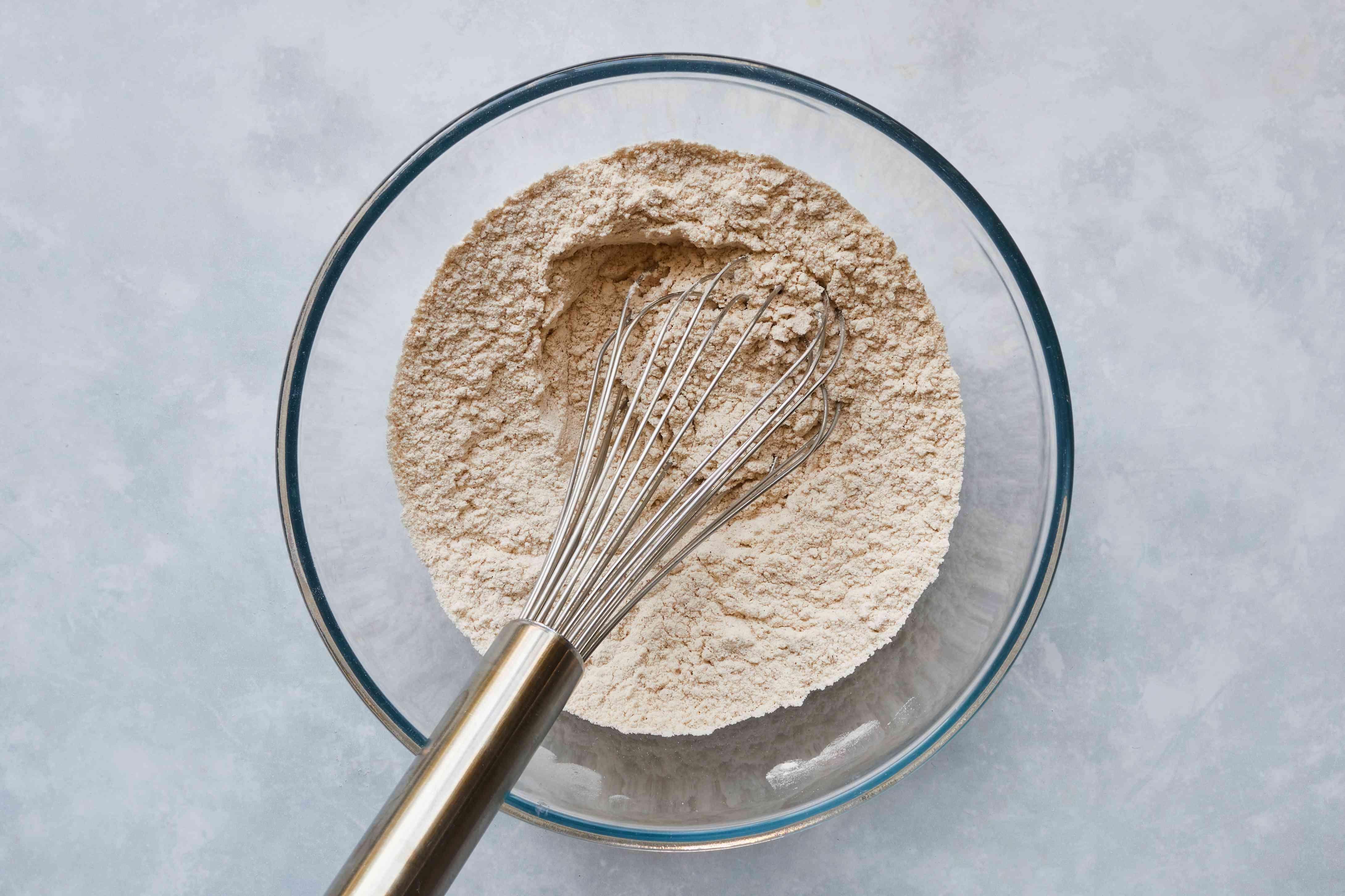purpose flour, pumpkin spice, baking soda, cream of tartar, and salt in a bowl