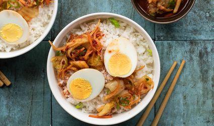 Kimchi picked eggs recipe
