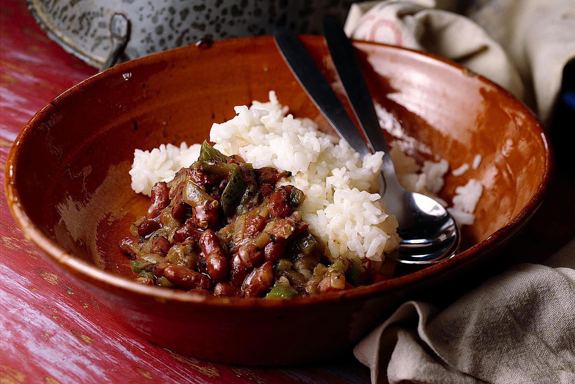 Slow-Cooker Cajun Red Beans and Rice