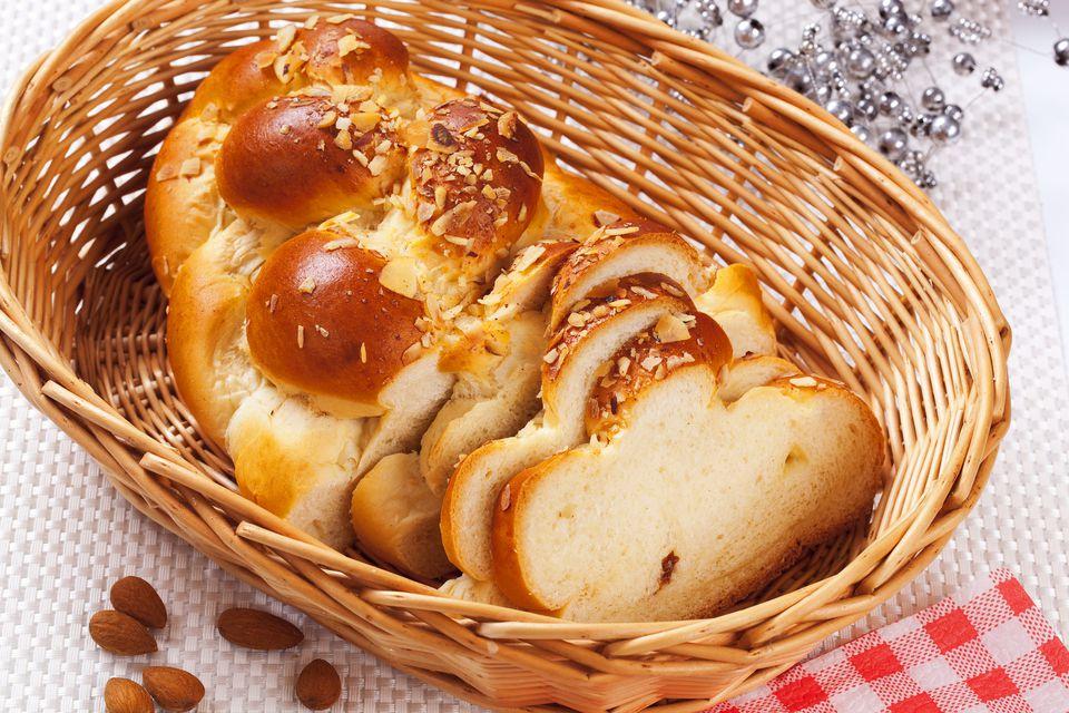 Pan dulce sueco con levadura (Vetebröd)