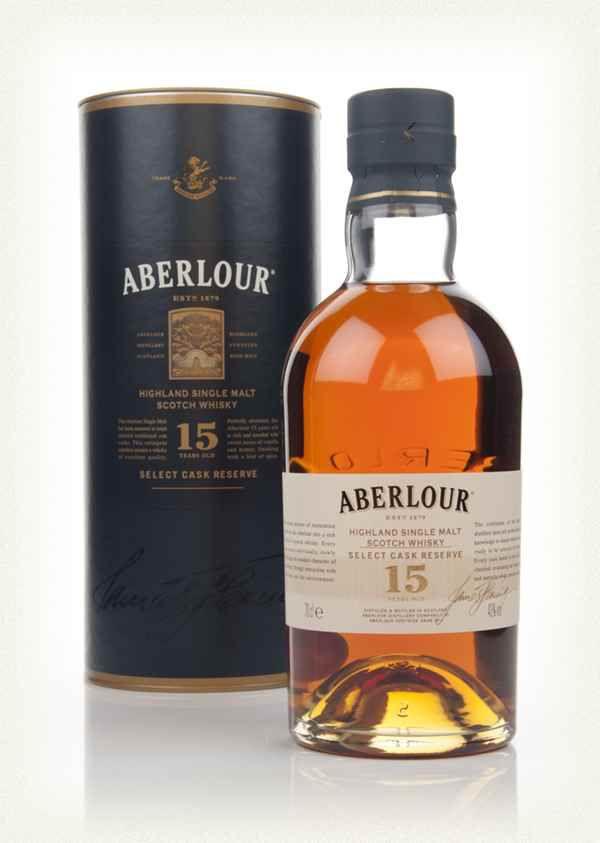 Aberlour single malt scotch