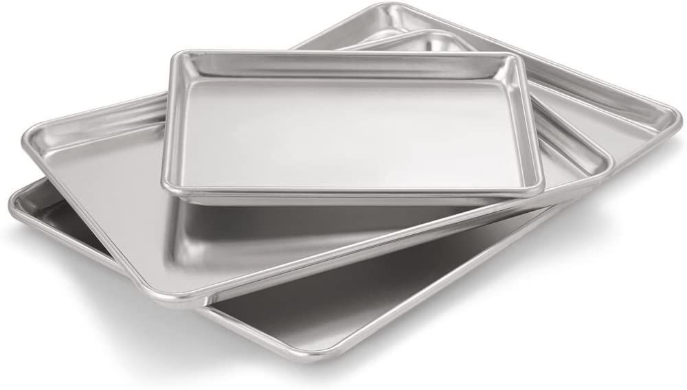Artisan Professional Classic Aluminum Baking Sheet Pan Set
