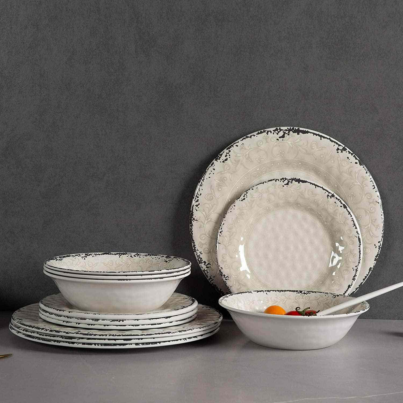 Aidio Melamine Dinnerware Set