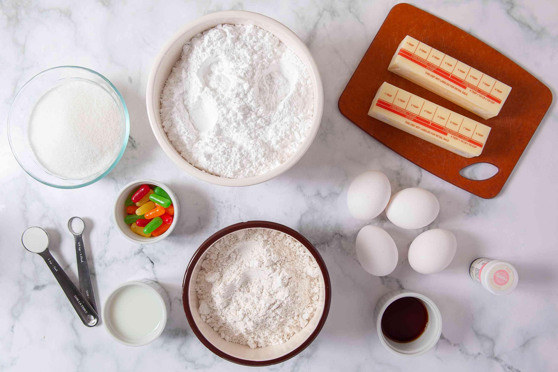 Donut Cake ingredients