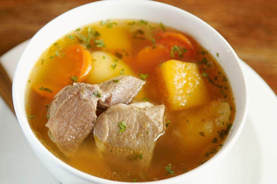 Kjötsúpa- Icelandic lamb soup