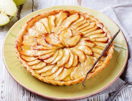 french apple tart