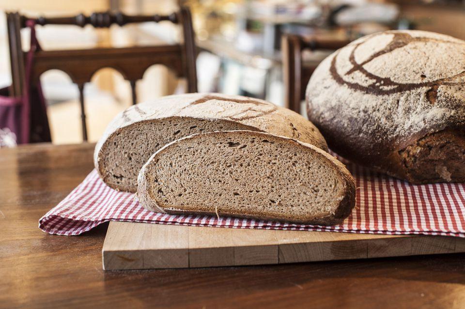 German crusty bread