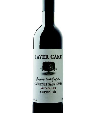 layer cake wine bottle