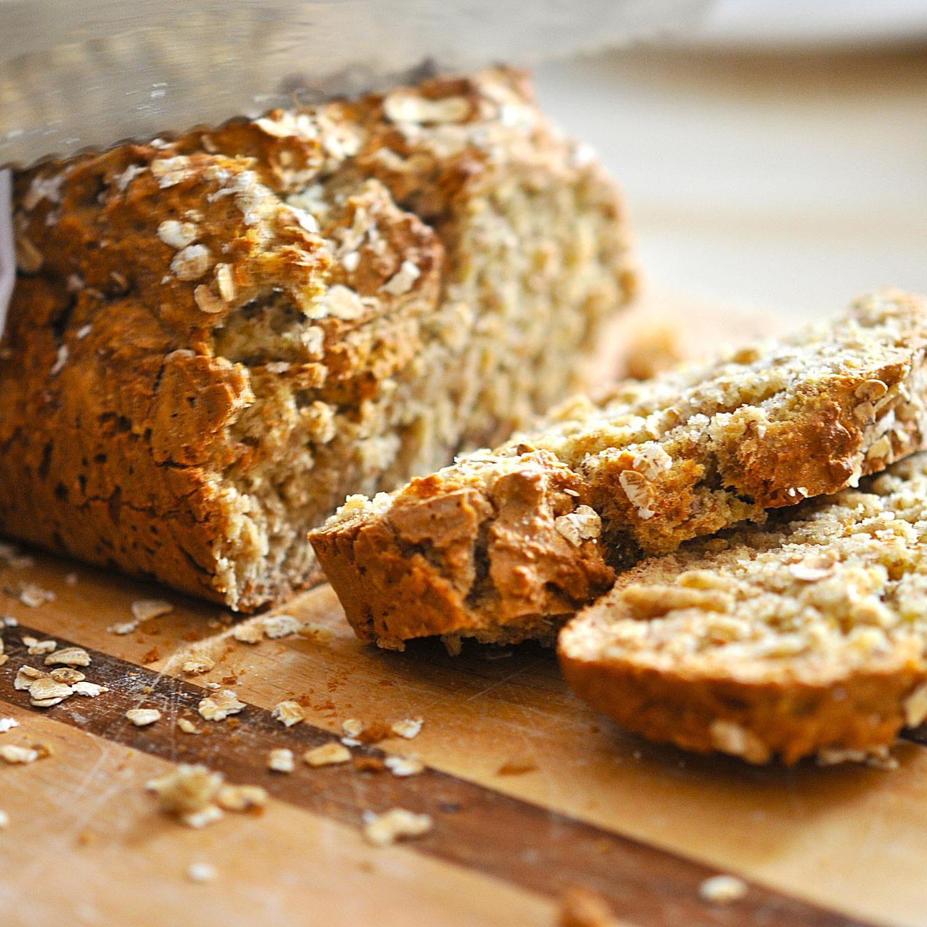 Traditional Irish Wheaten Bread Brown Soda Bread