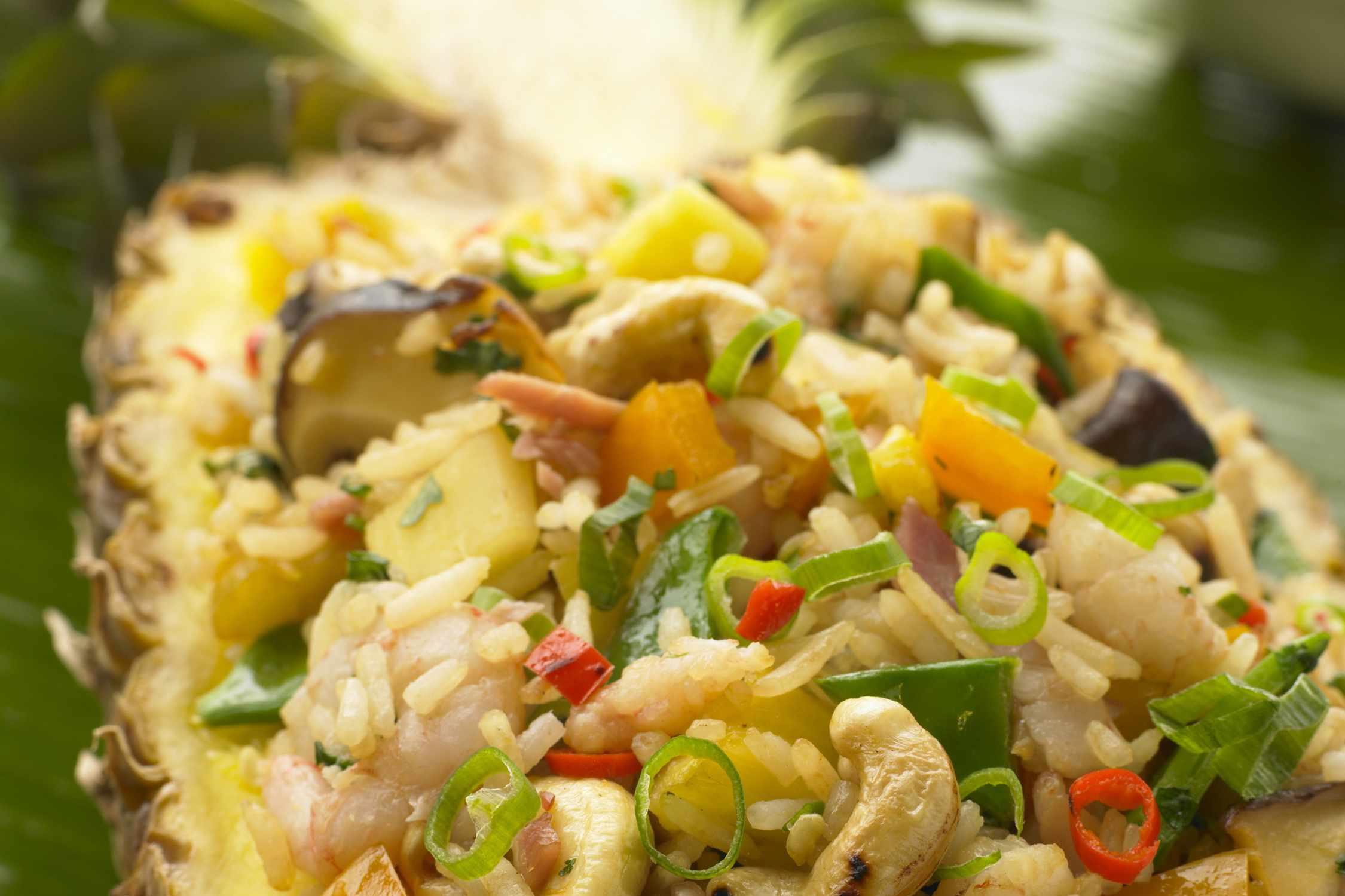 Cambodian Pineapple Rice