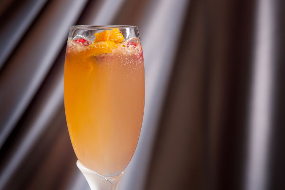 Figgy Sparkler Cocktail