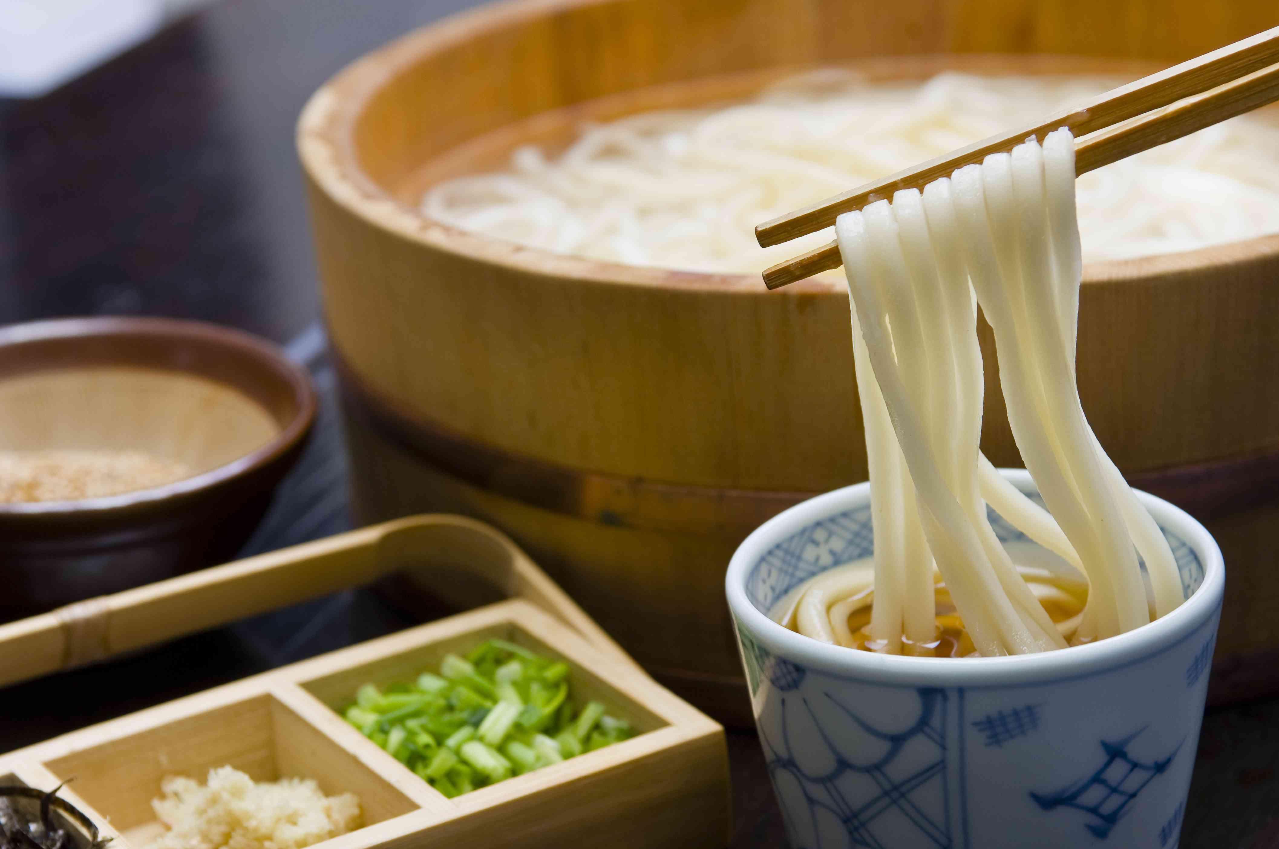 Yudame Udon Sanuki / Kagawa / Local cuisine