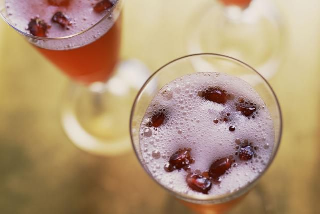 Stunning Pomegranate Cocktails