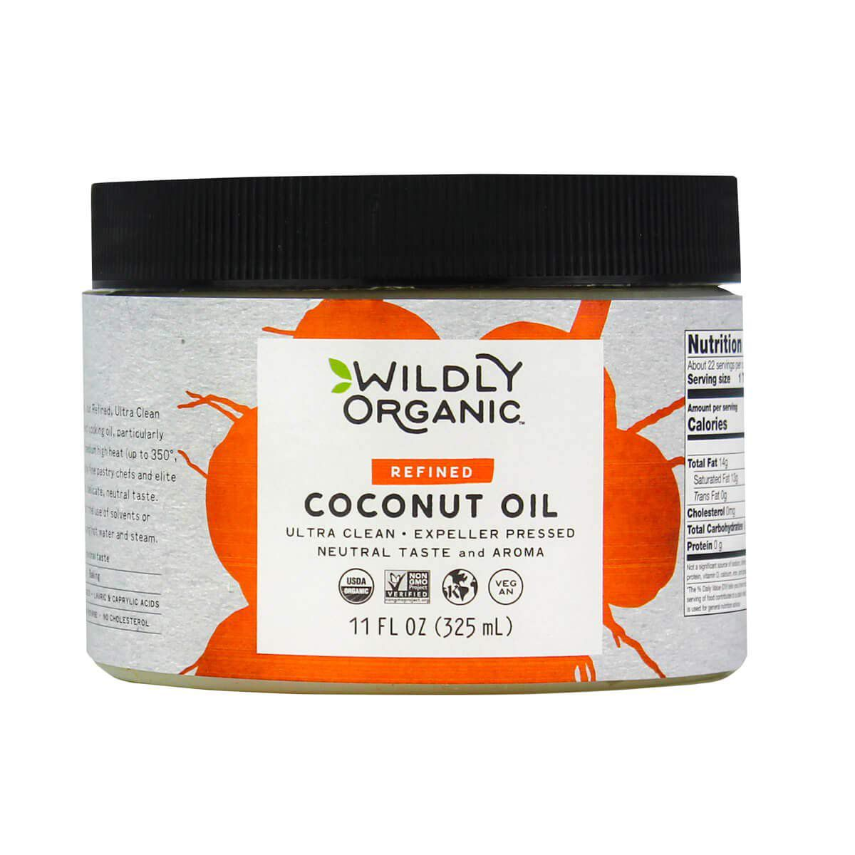 Wildly Organic Refined Organic Coconut Oil