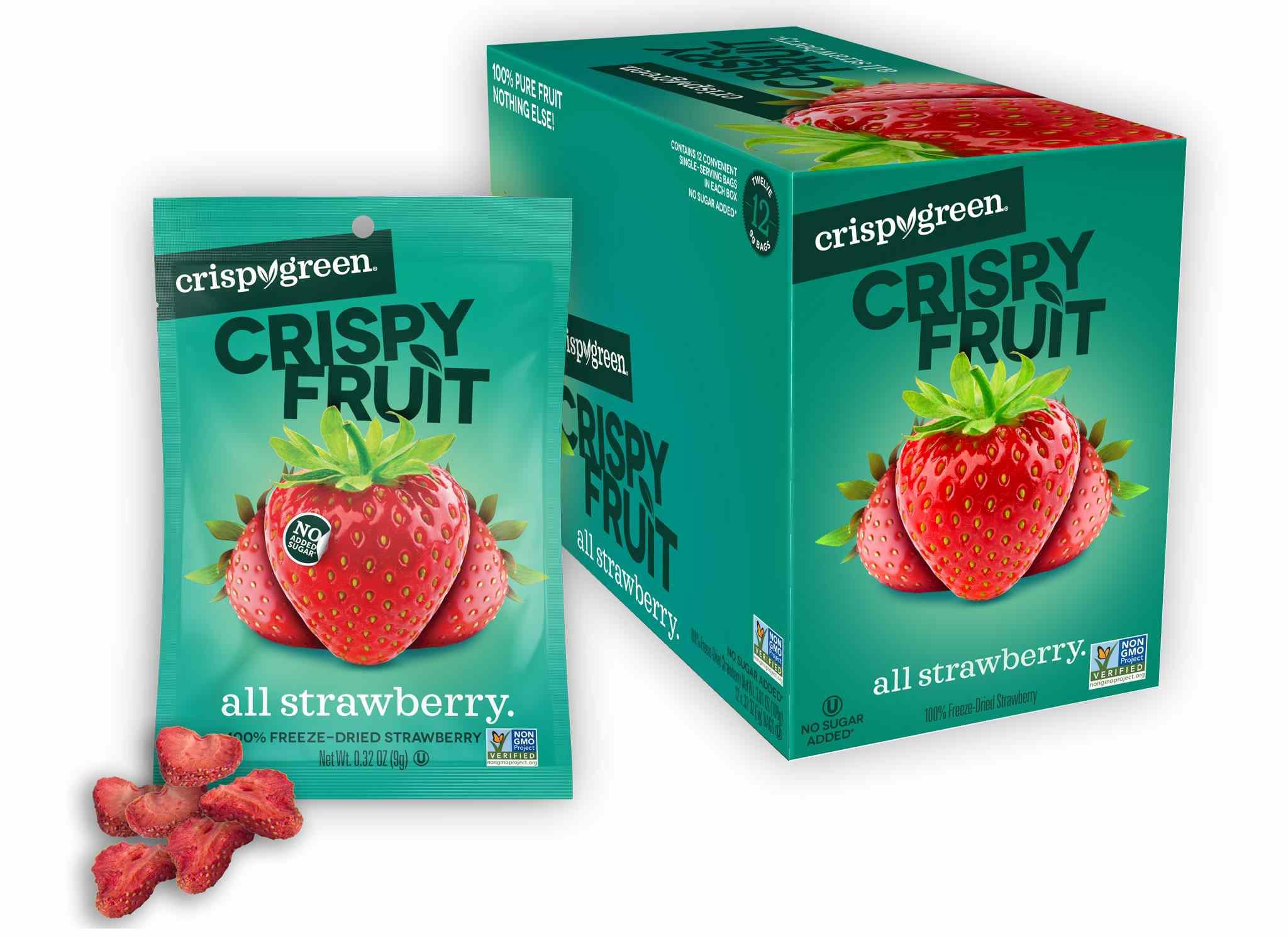 Crispy Green Freeze-Dried Fruit