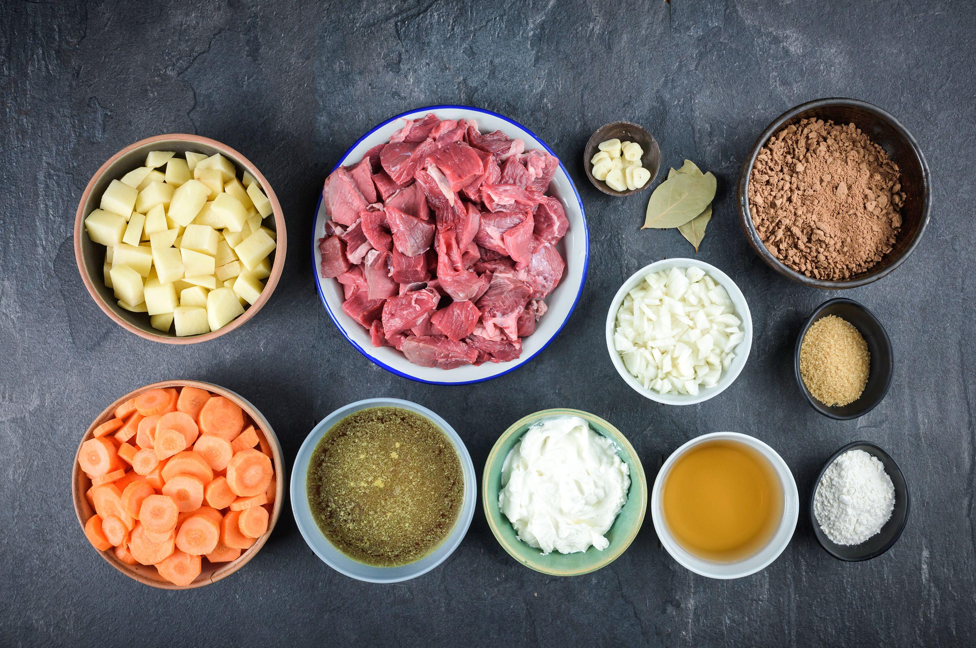 Ingredients for crockpot sauerbraten