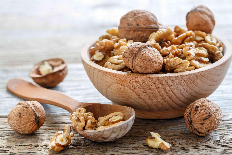Walnuts in a bowl.