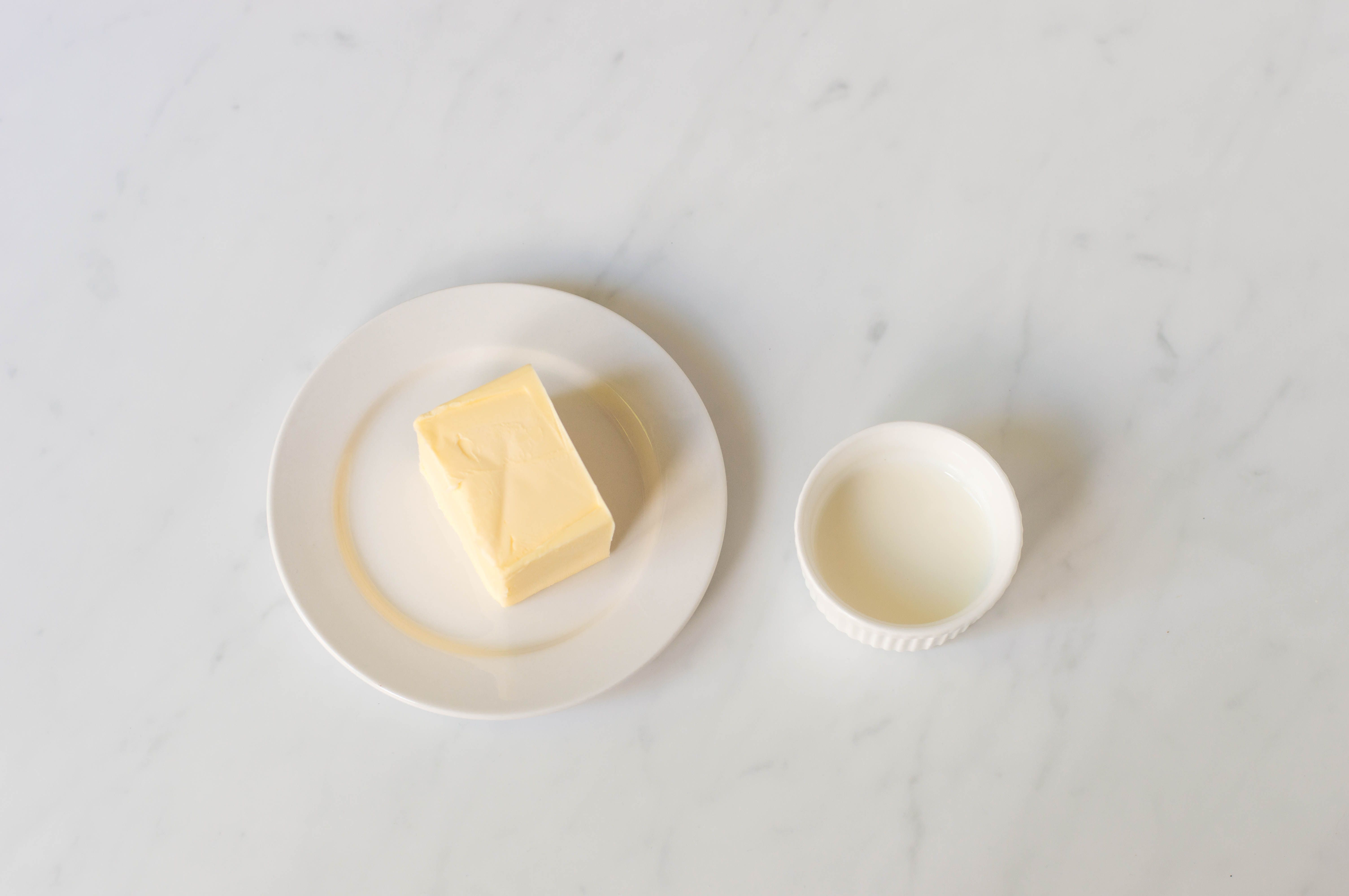 Ingredients for whipped butter