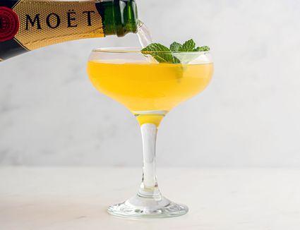 Moët Golden Glamour Cocktail