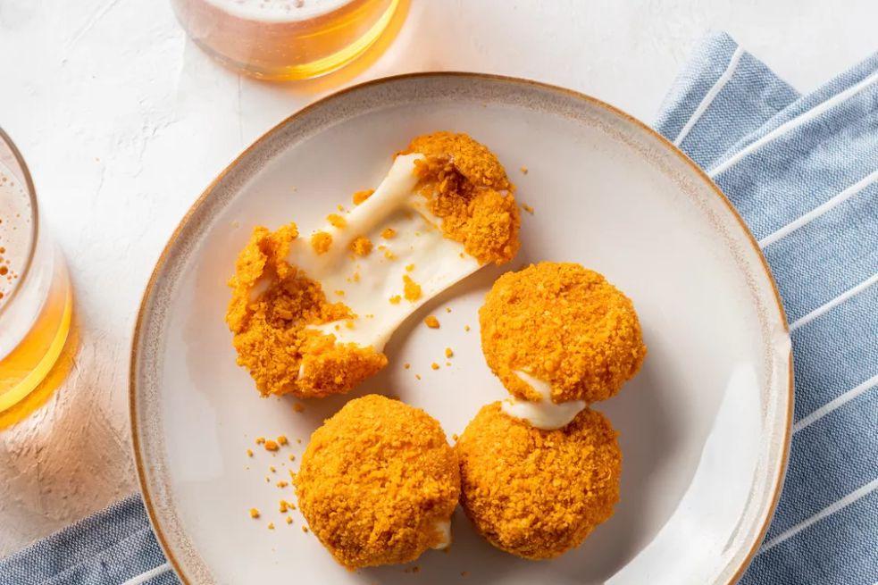 Doritos-Crusted Babybels