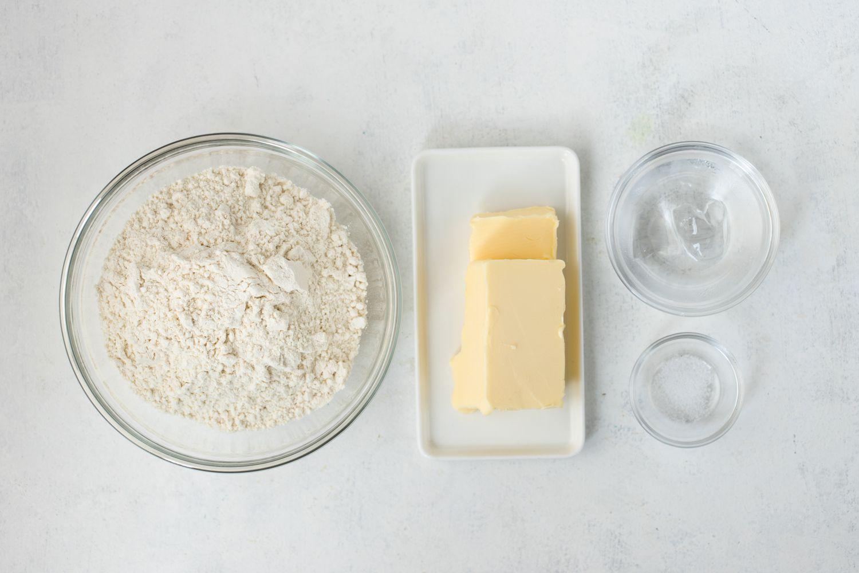 Perfect shortcrust ingredients