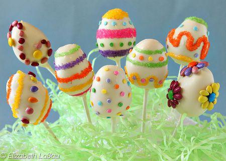 Easter Egg Cake Pops Recipe