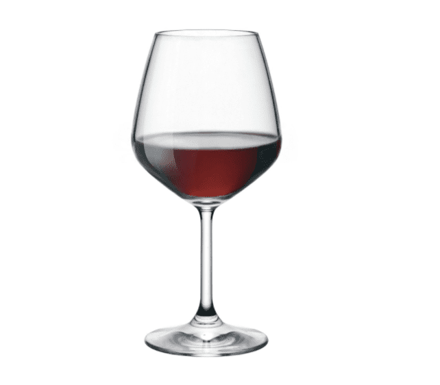Bormioli Rocco Restaurant Red Wine Glass, 18 oz Set of 4