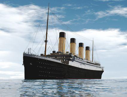 Ocean liner, illustration