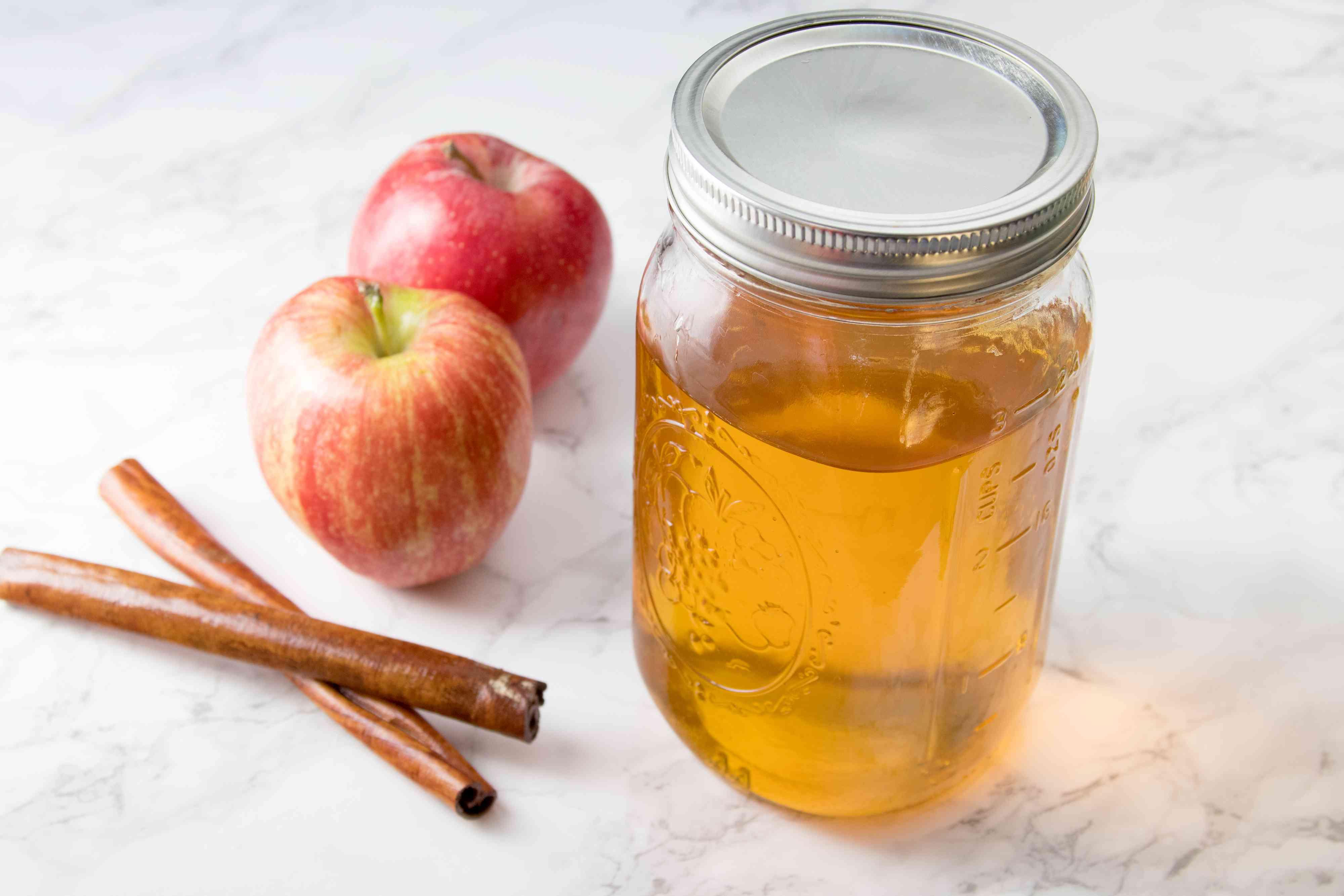 Apple-Cinnamon Infused Tequila