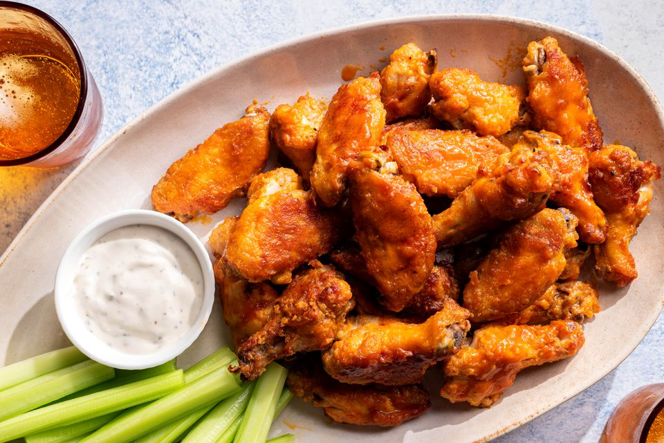 Spicy Baked Hot Wings