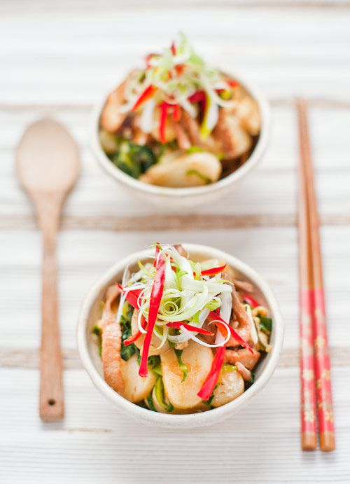 Chinese stir fried rice cake recipe