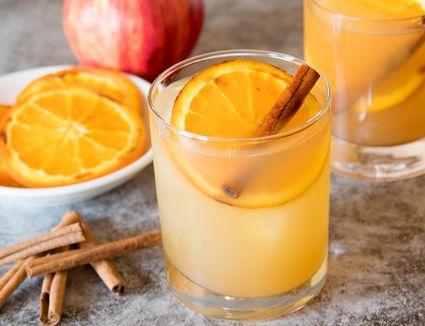 Spiked Apple Cider Cocktail