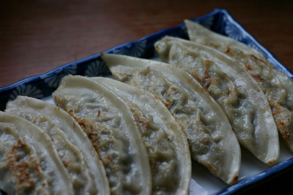 Korean Dumplings (Mandoo)