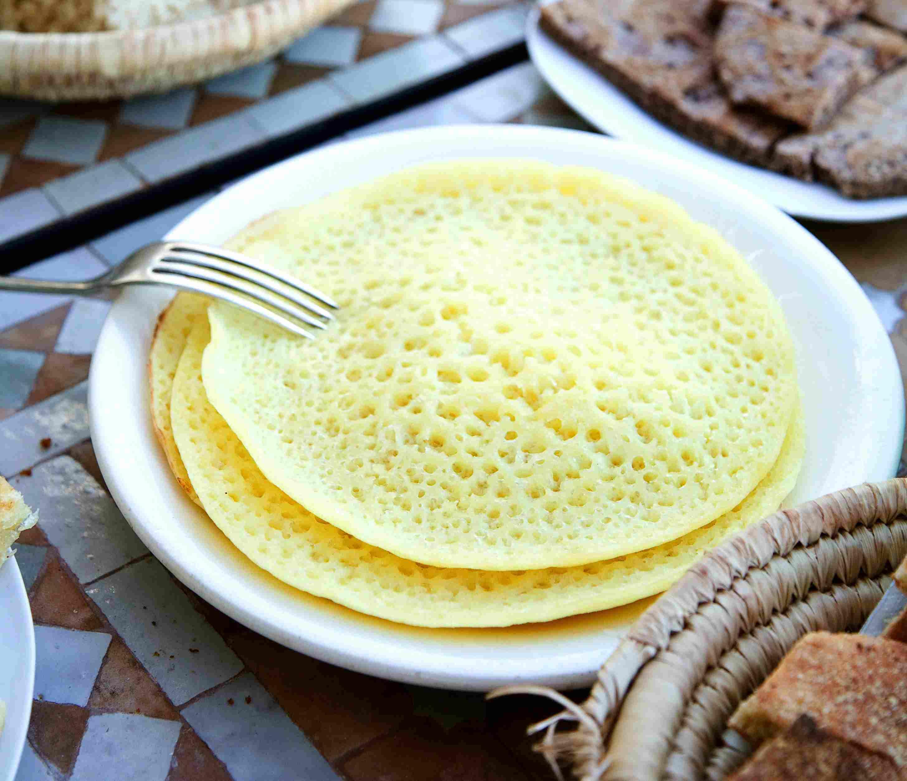 Beghrir - Moroccan Pancakes