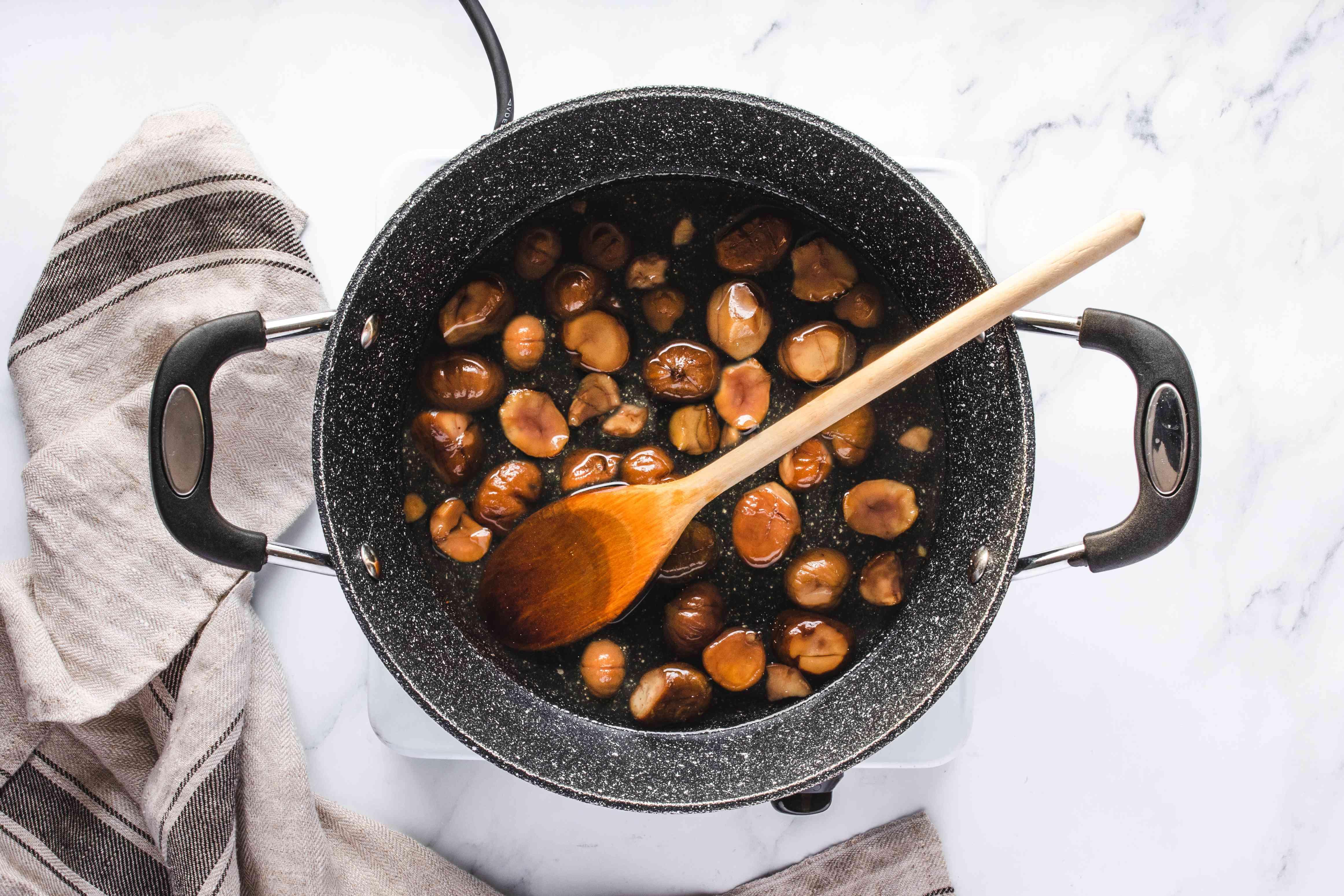 Add chestnuts