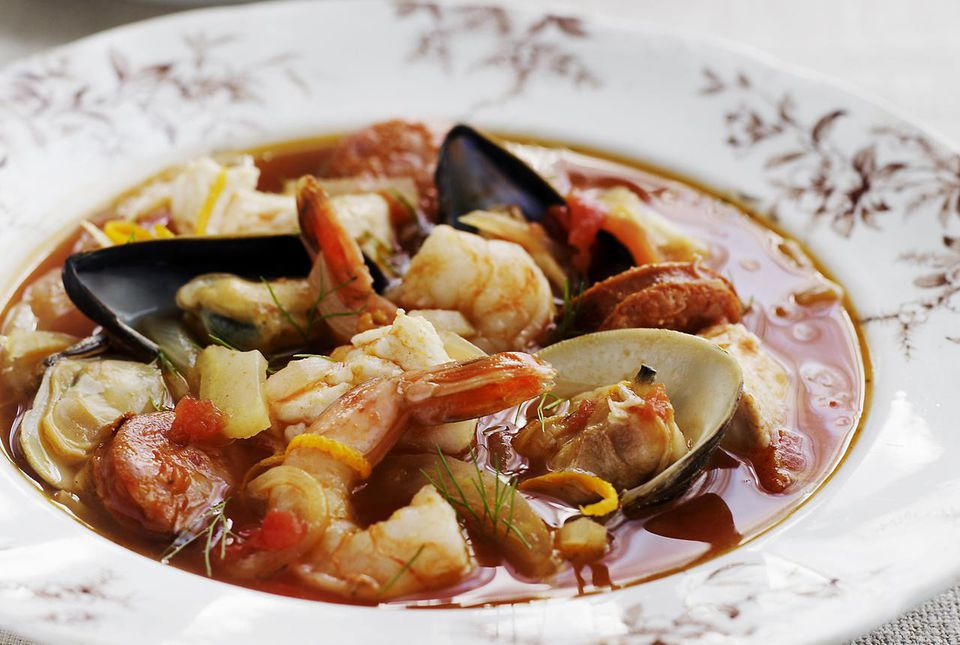 Crock Pot Fisherman's Stew (Cioppino)