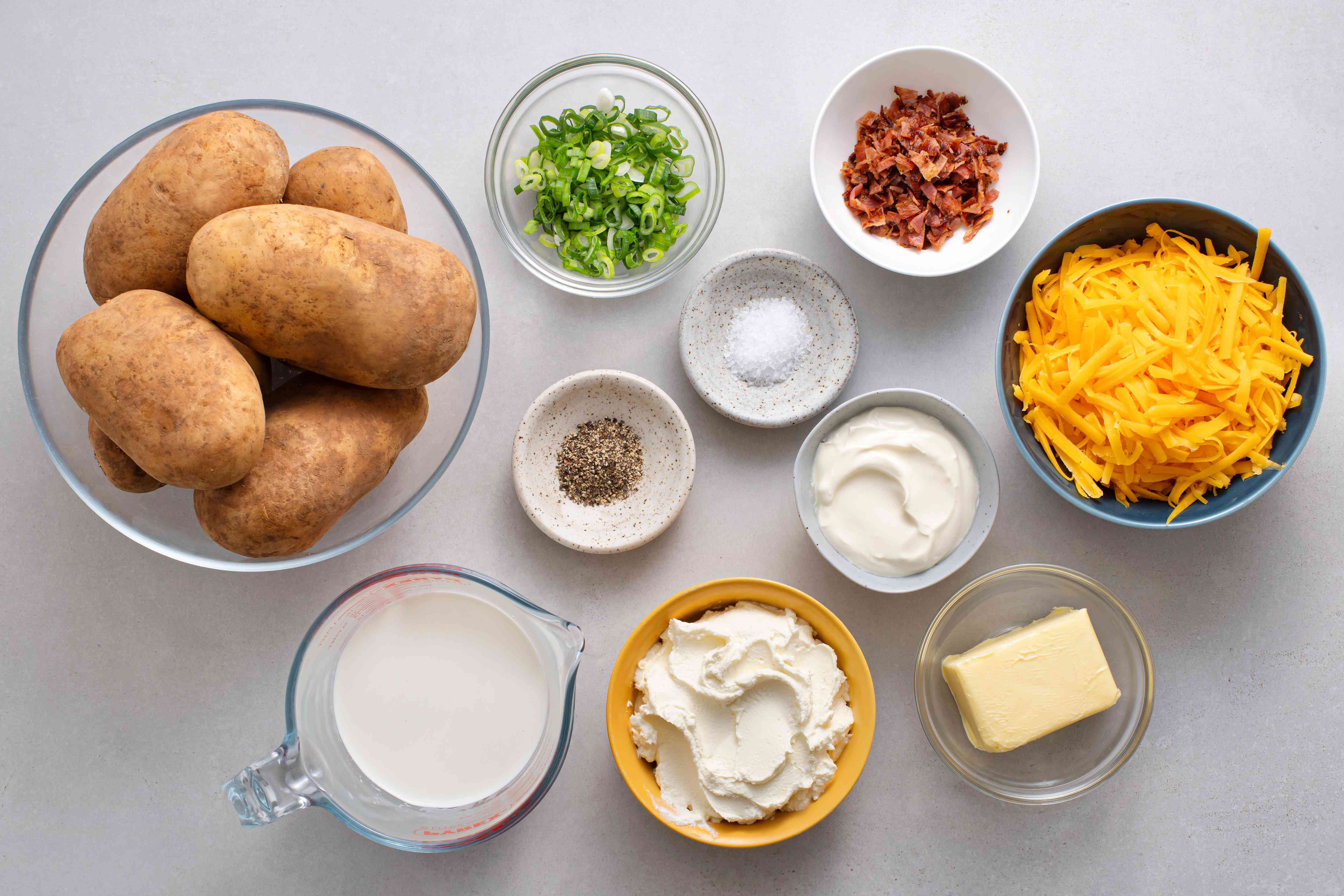 Loaded Smashed Potatoes ingredients