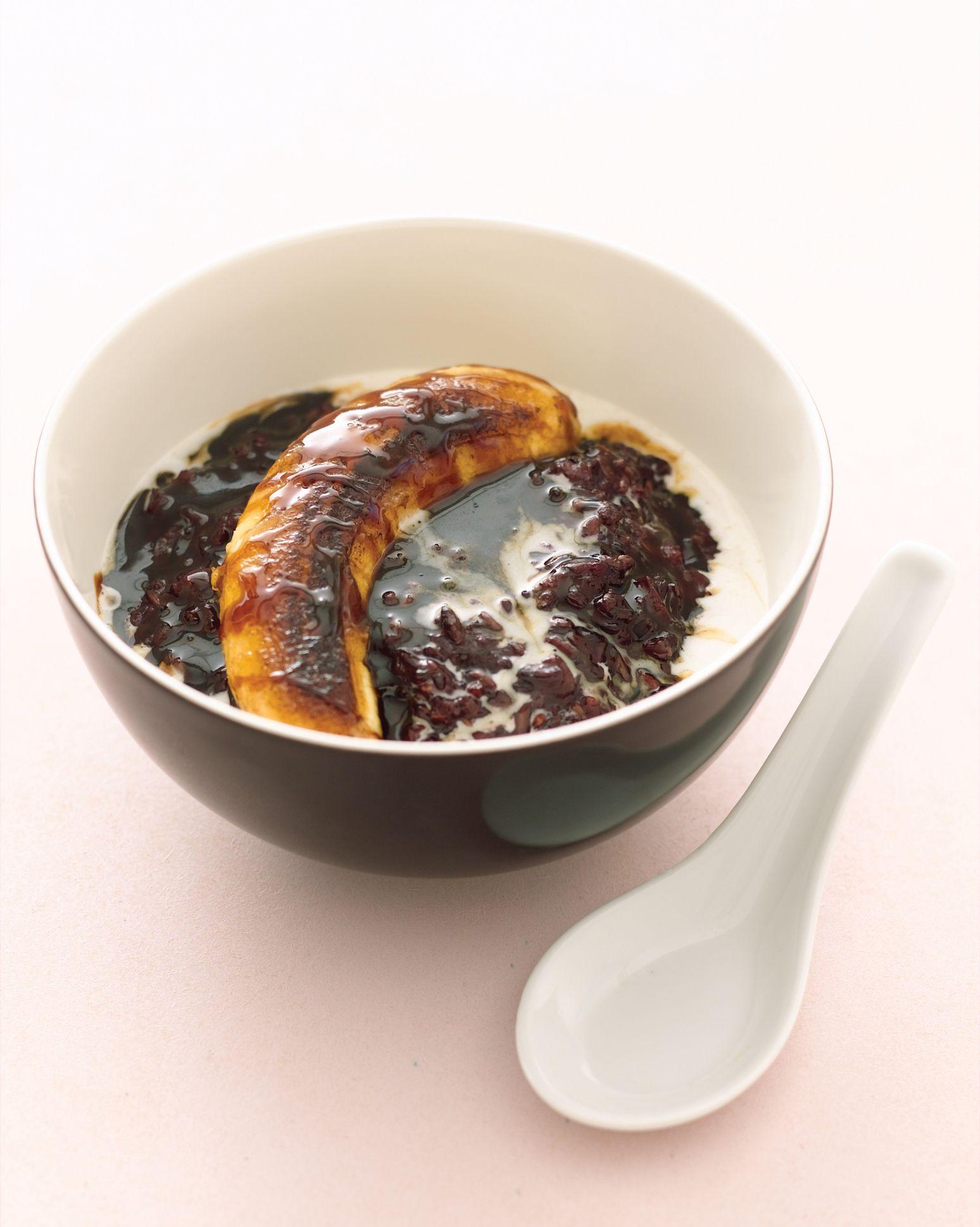 Thai Black Sticky Rice Pudding Recipe