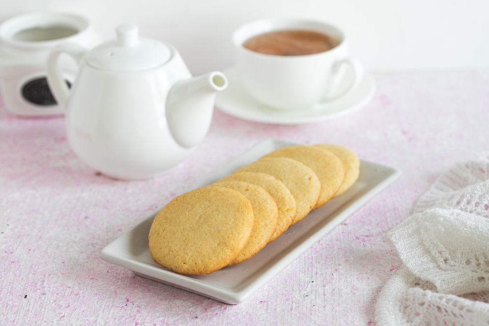 Easy Tea Cake Cookies Recipe