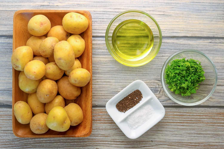 Oven-roasted potato ingredients