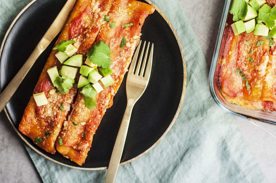 Easy 30-Minute Mexican Enchiladas