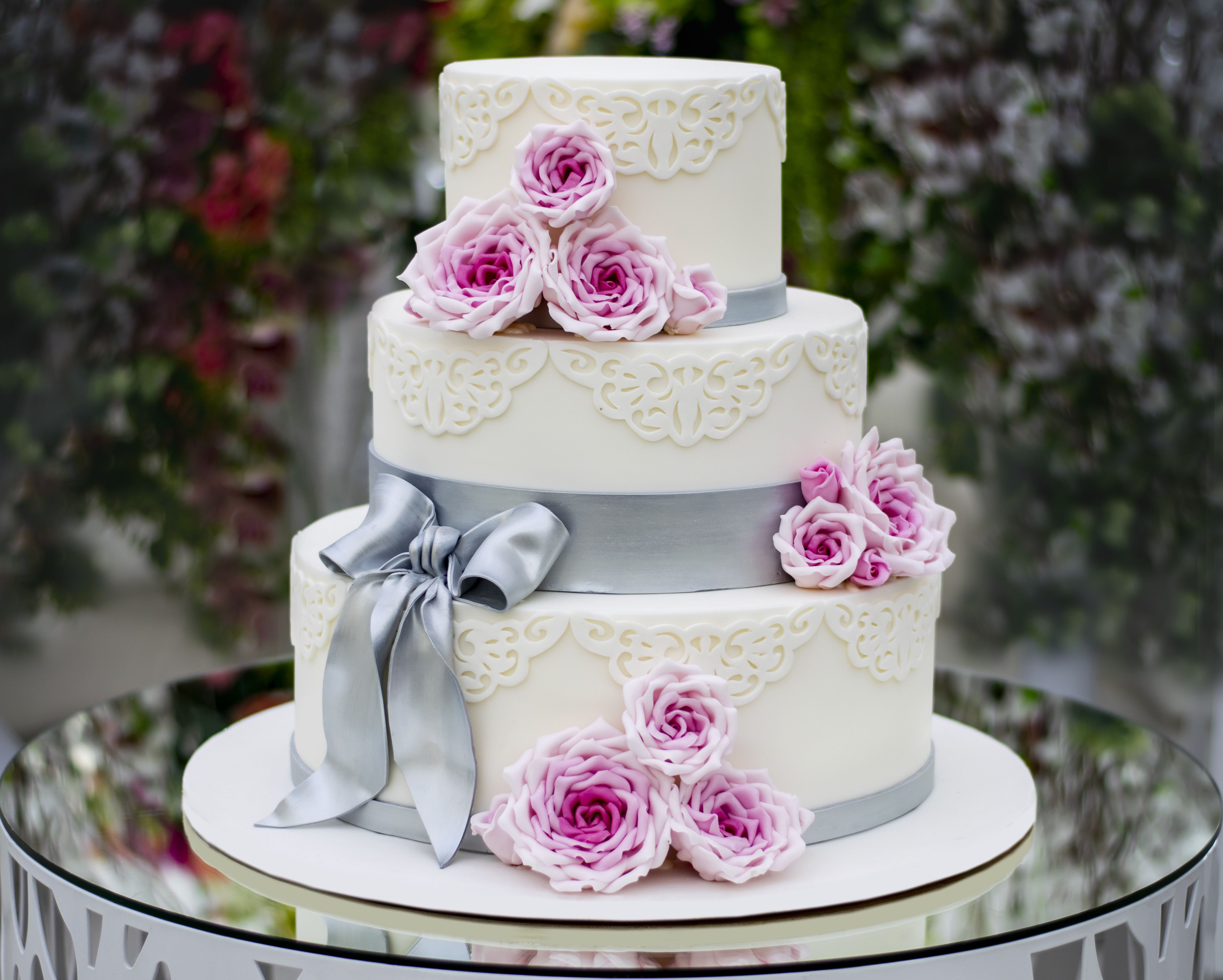 3 Tier Wedding Cake Images