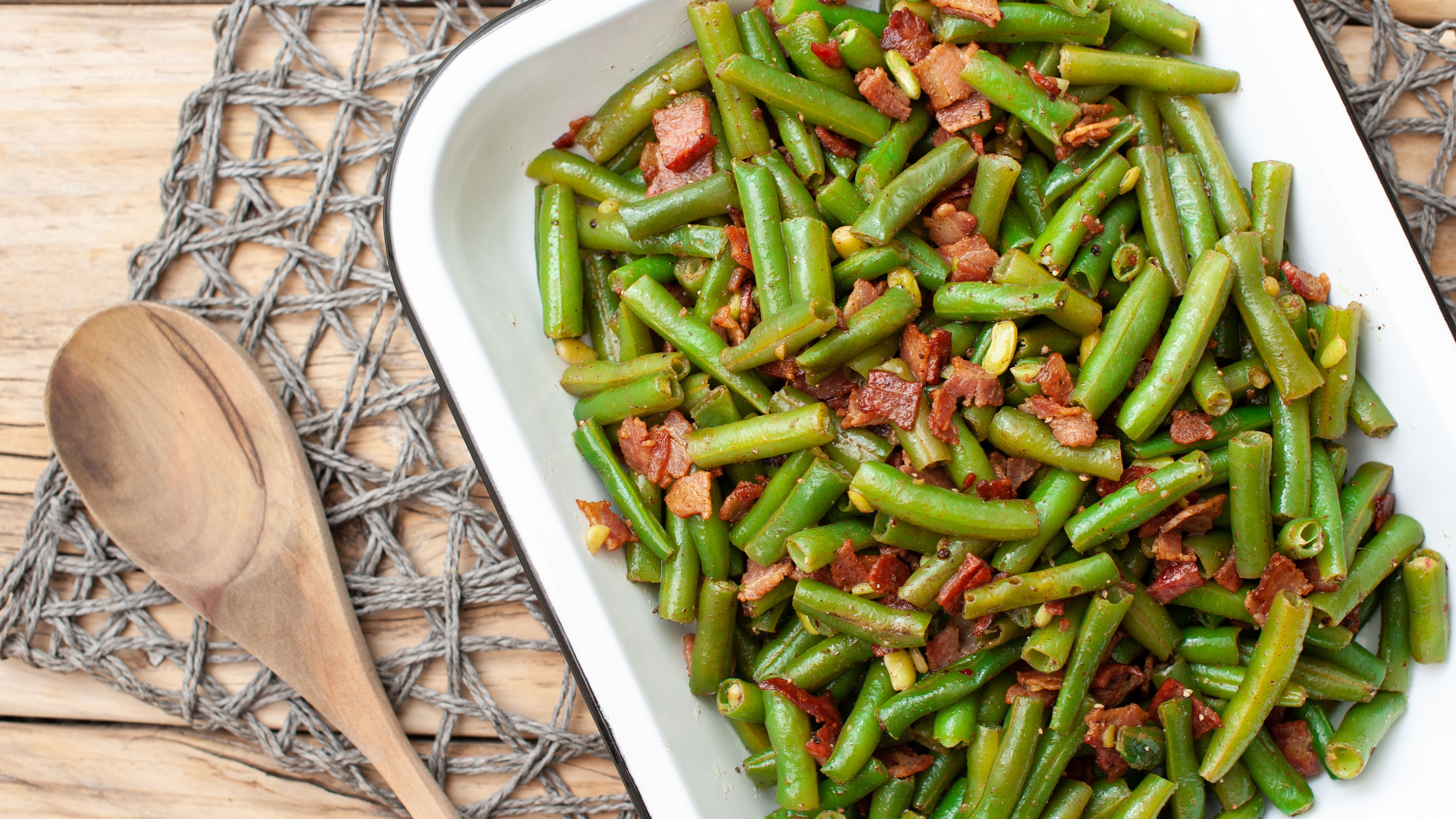Easy Green Beans And Bacon Recipe