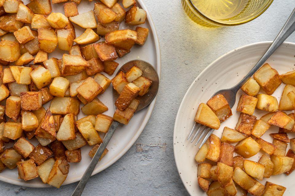 Crispy Diced Potatoes