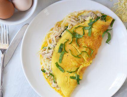 chicken omelet recipe