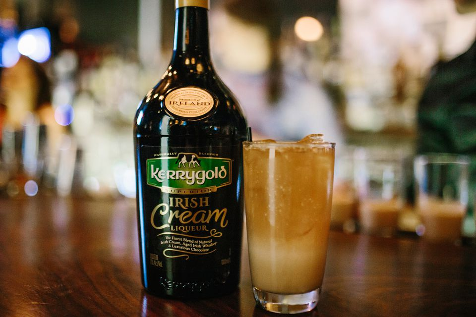 Spiked Thai Iced Tea Cocktail With Kerrygold Irish Cream Liqueur